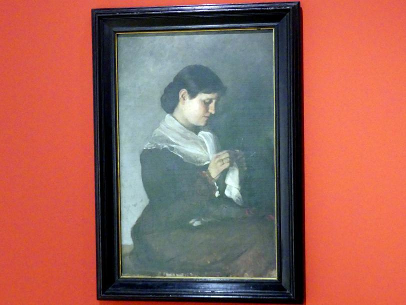 Marianne von Werefkin: Porträt Vera Repin, 1881