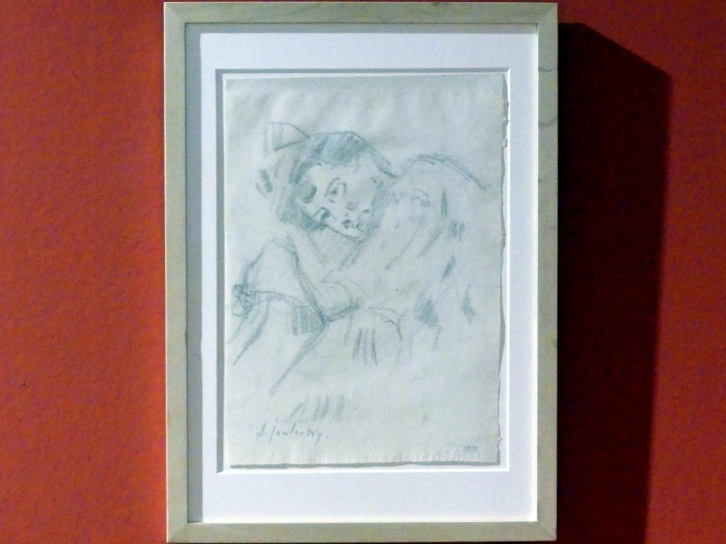 Alexej von Jawlensky: Porträt Marianne von Werefkin, um 1898