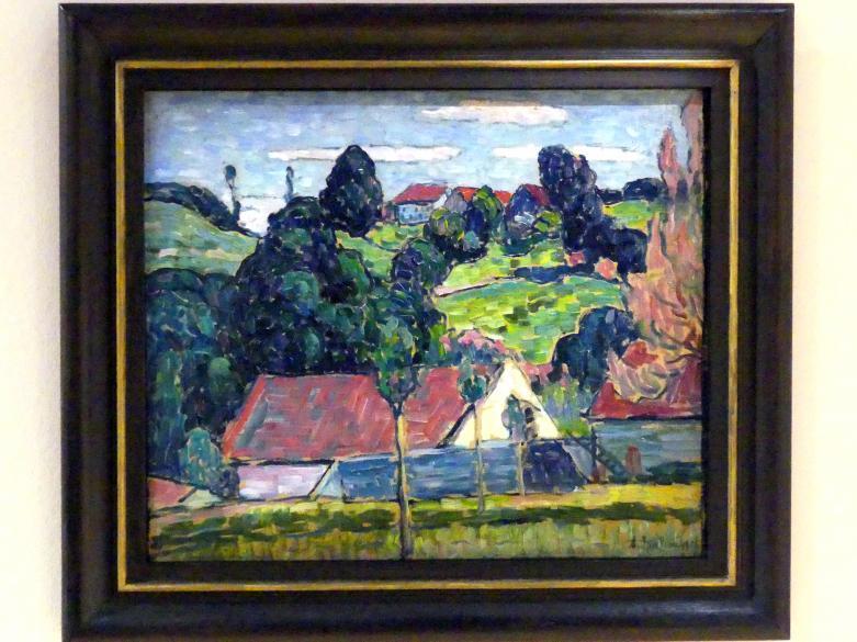 Alexej von Jawlensky: Sommertag (Wasserburg), 1907