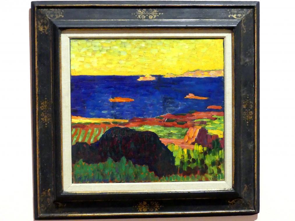 Alexej von Jawlensky: Küste bei Caranteque, 1906