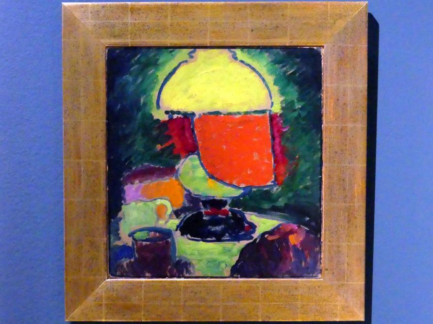 Alexej von Jawlensky: Die Lampe, 1908