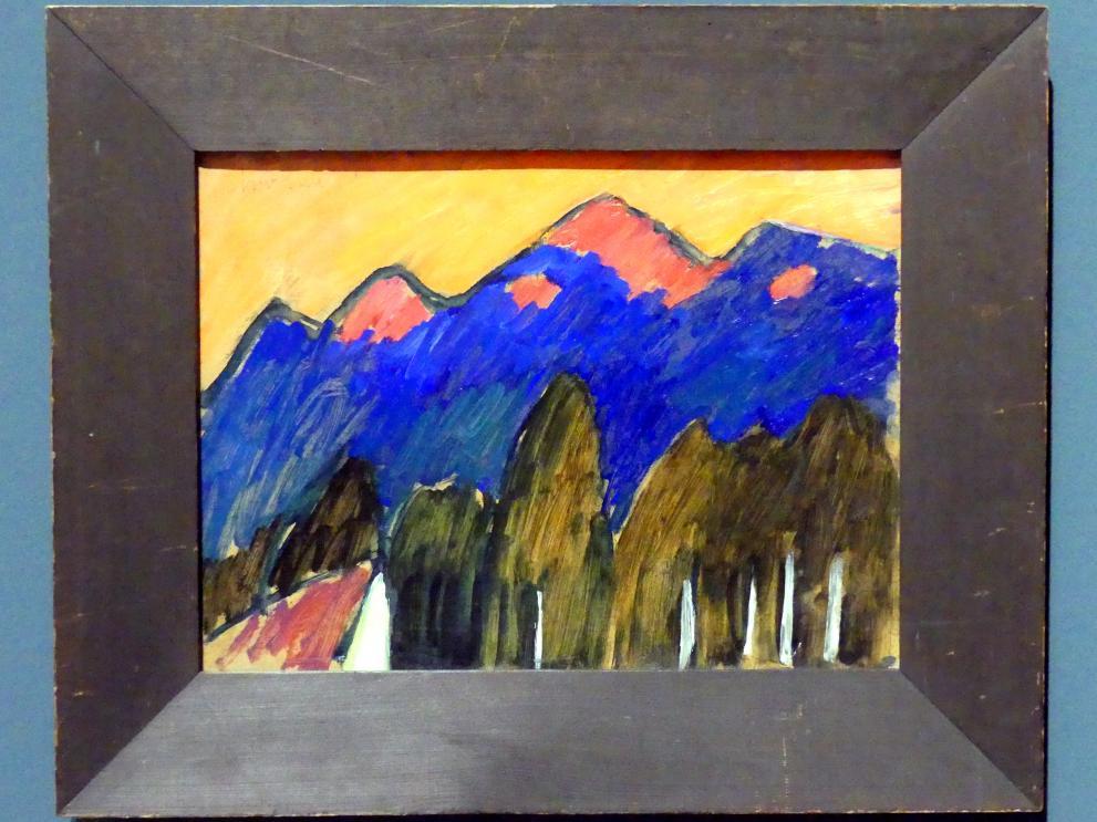 Alexej von Jawlensky: Murnau - Das Tal, um 1910