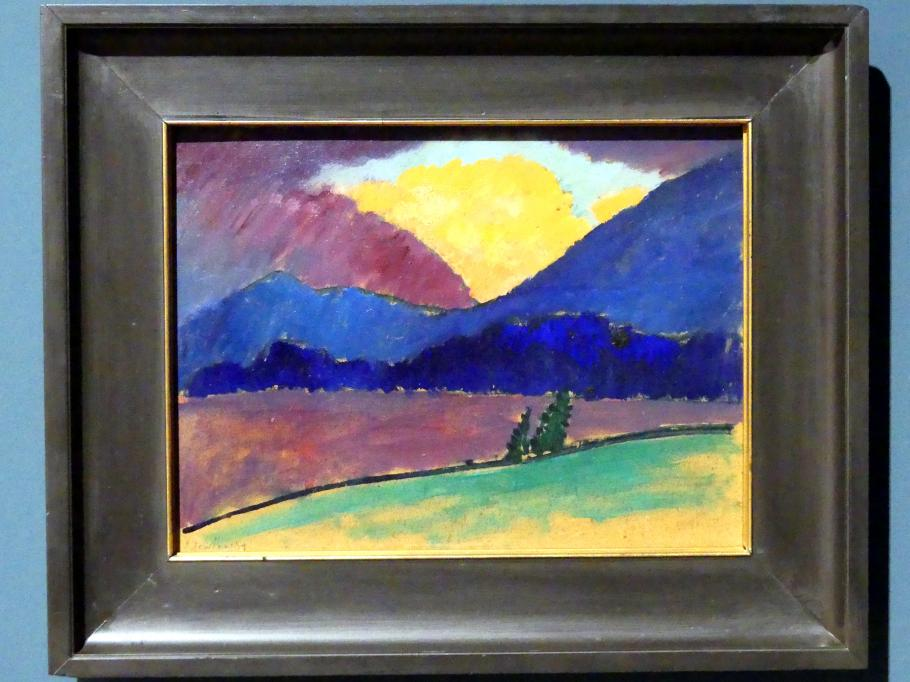 Alexej von Jawlensky: Sommerabend in Murnau, 1908 - 1909