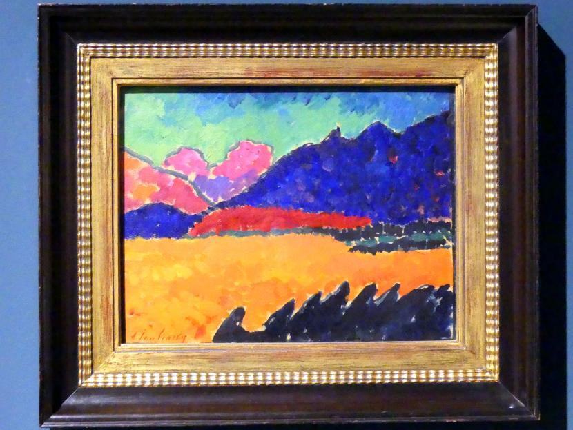 Alexej von Jawlensky: Landschaft bei Murnau, 1909 - 1910