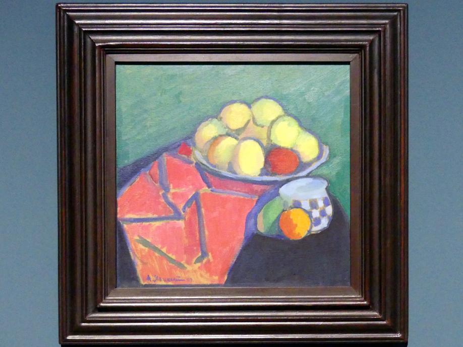 Alexej von Jawlensky: Stillleben mit Äpfeln, 1908