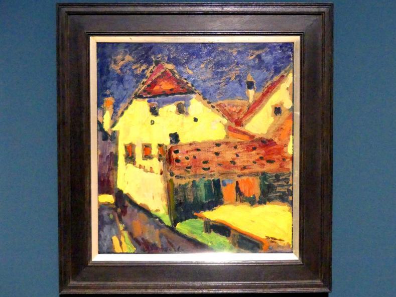 Alexej von Jawlensky: Gelbe Häuser, um 1909