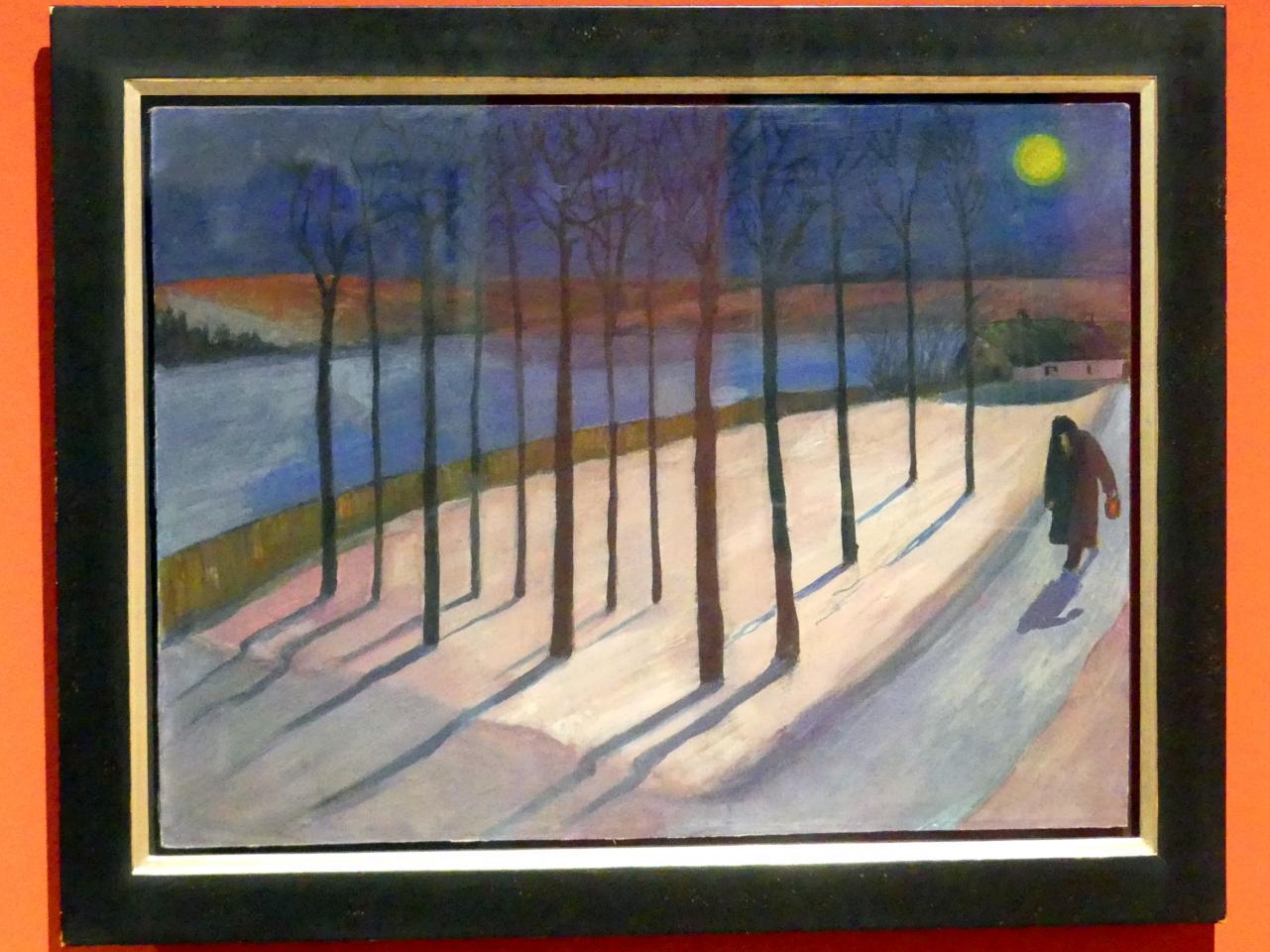 Marianne von Werefkin: Mondnacht, 1909 - 1910