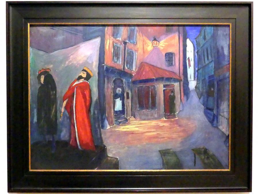 Marianne von Werefkin: In die Nacht hinein, 1910