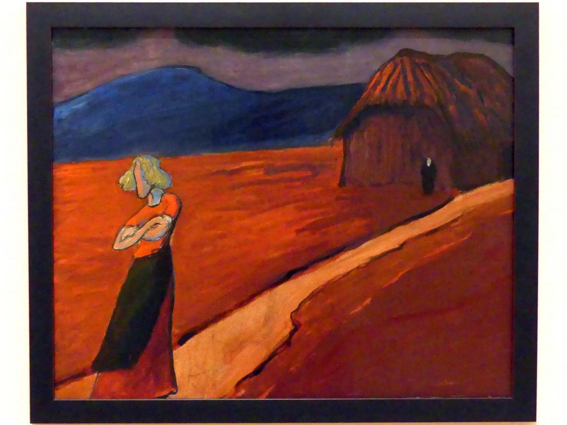 Marianne von Werefkin: Tragische Stimmung, 1910