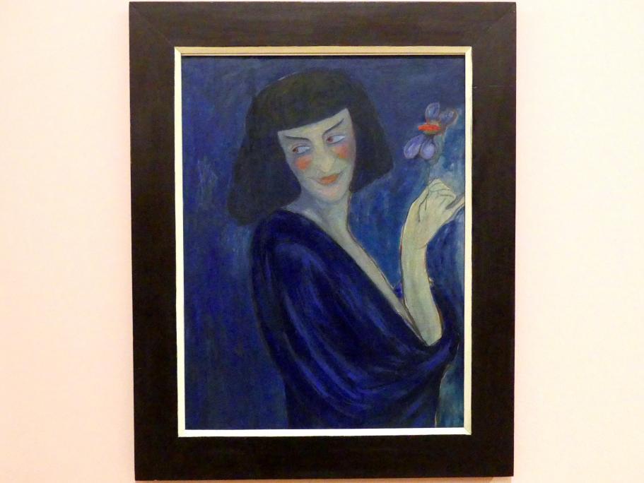 Marianne von Werefkin: Der Tänzer Alexander Sacharoff, 1909
