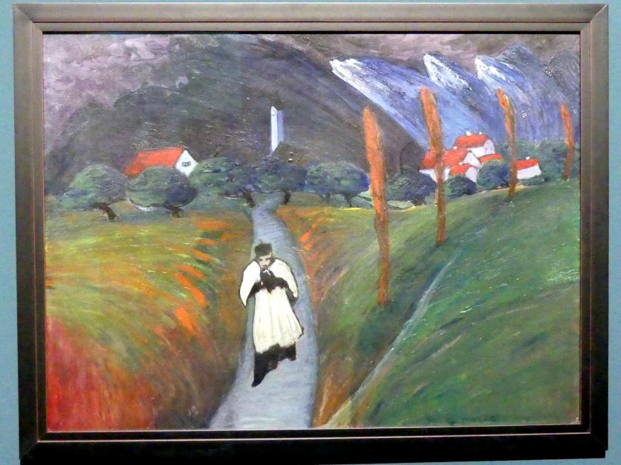 Marianne von Werefkin: Corpus Christi, um 1911