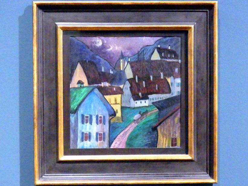 Marianne von Werefkin: Abend in Murnau, 1907 - 1910