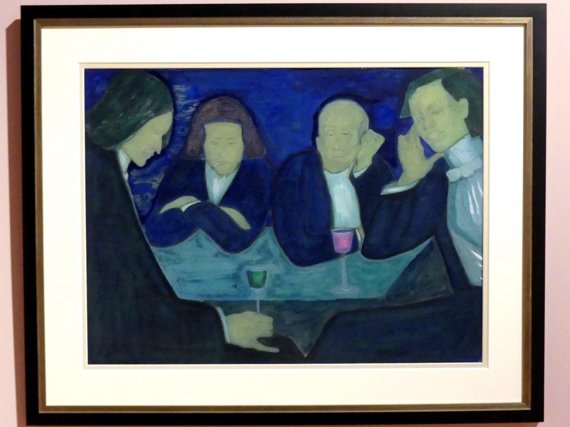 Marianne von Werefkin: Im Café, 1909