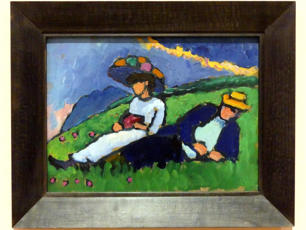 Gabriele Münter: Jawlensky und Werefkin, 1908 - 1909