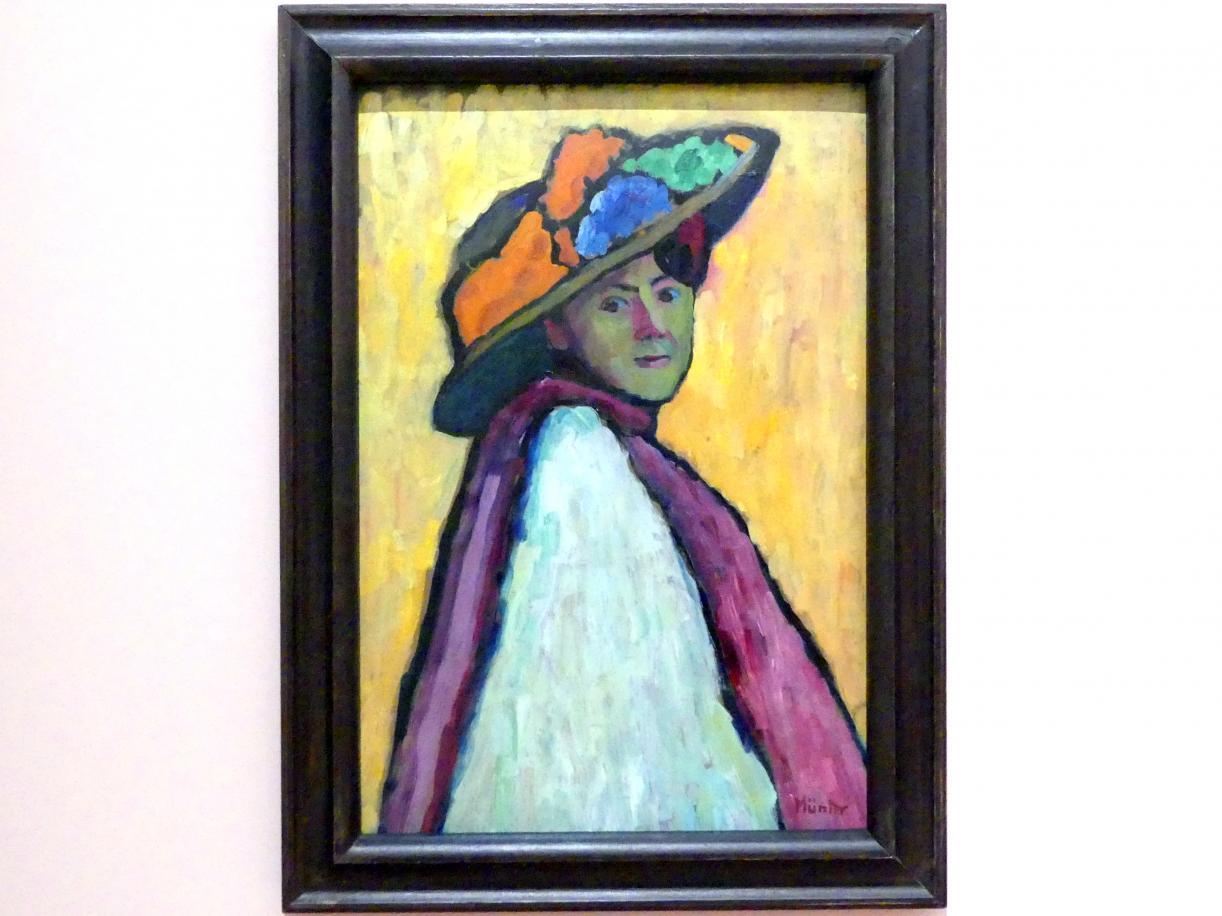 Gabriele Münter: Bildnis Marianne von Werefkin, 1909