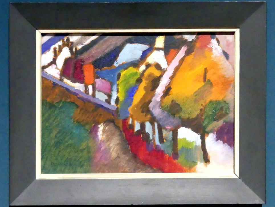 Wassily Kandinsky: Murnau - Schloss und Kirche, 1909