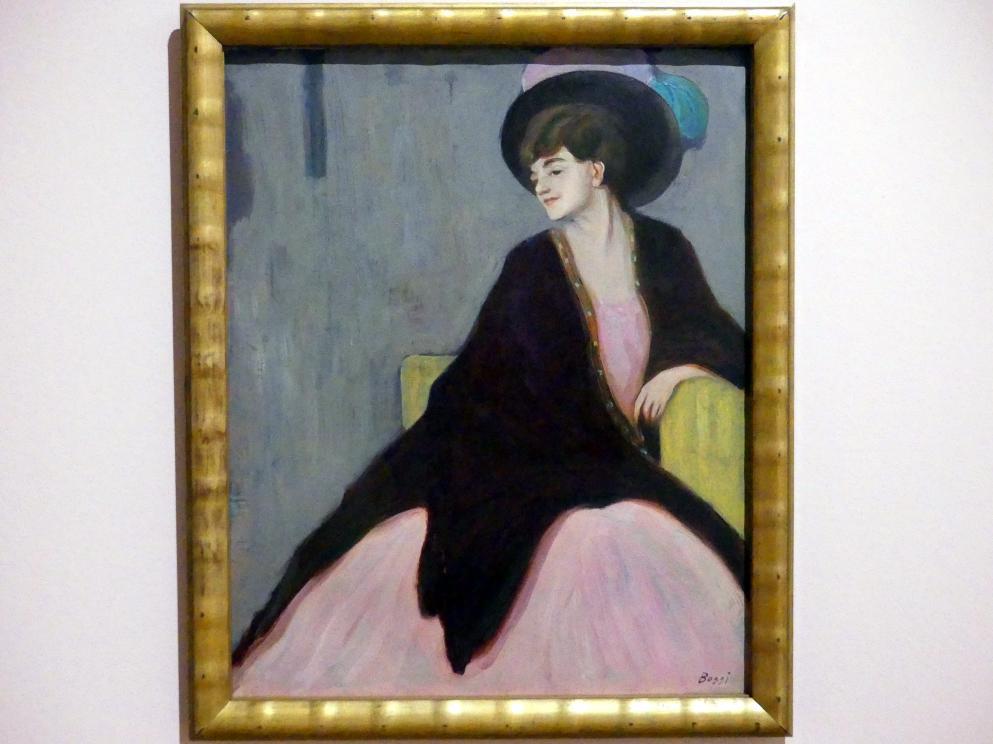 Erma Bossi: Bildnis Marianne von Werefkin, um 1910