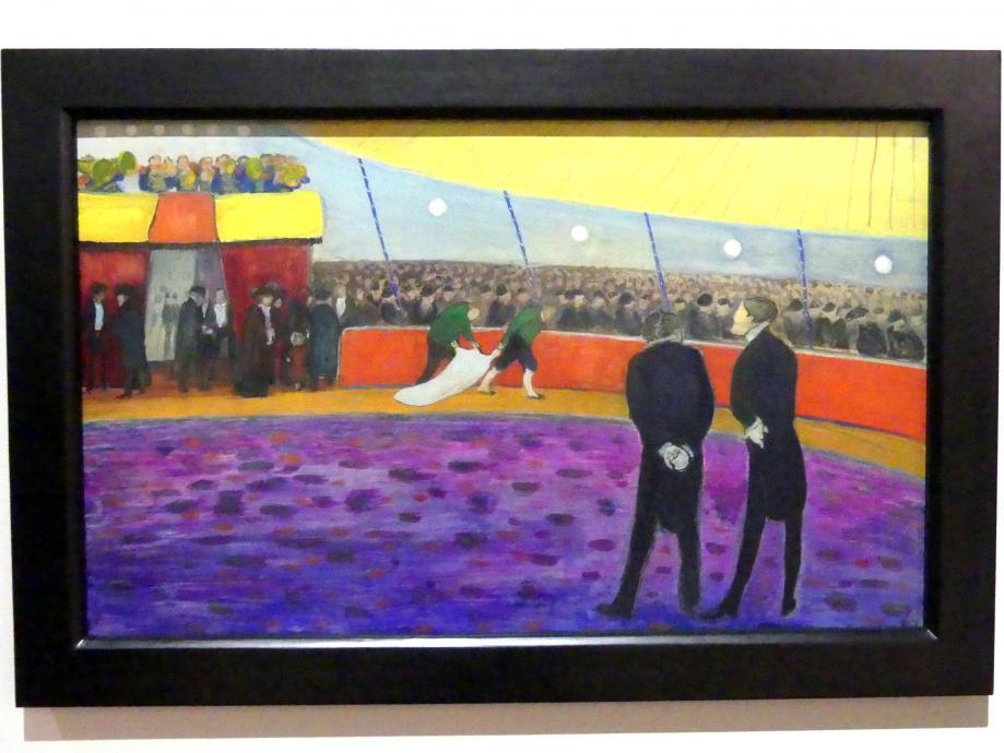 Marianne von Werefkin: Zirkus / Vor der Vorstellung, 1908 - 1910