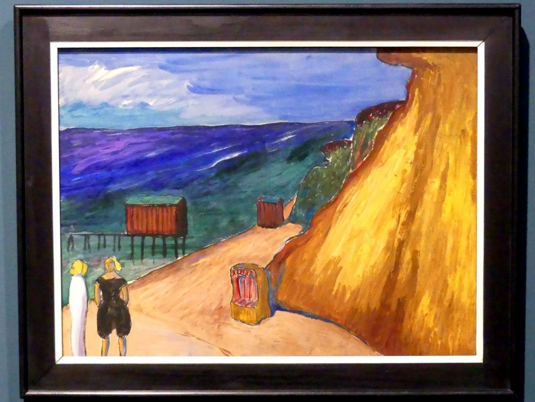 Marianne von Werefkin: Die Steilküste von Ahrenshoop, 1911