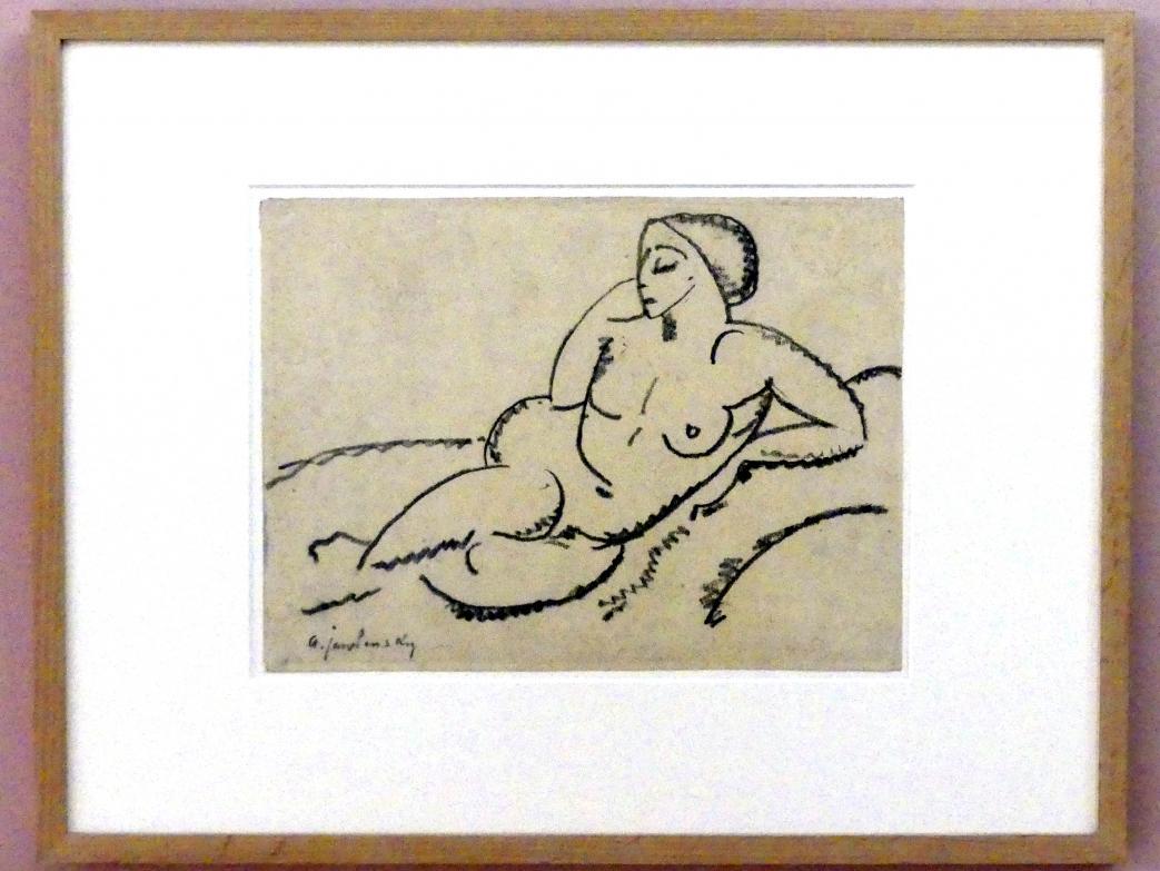 Alexej von Jawlensky: Liegender weiblicher Akt, um 1913, Bild 1/2