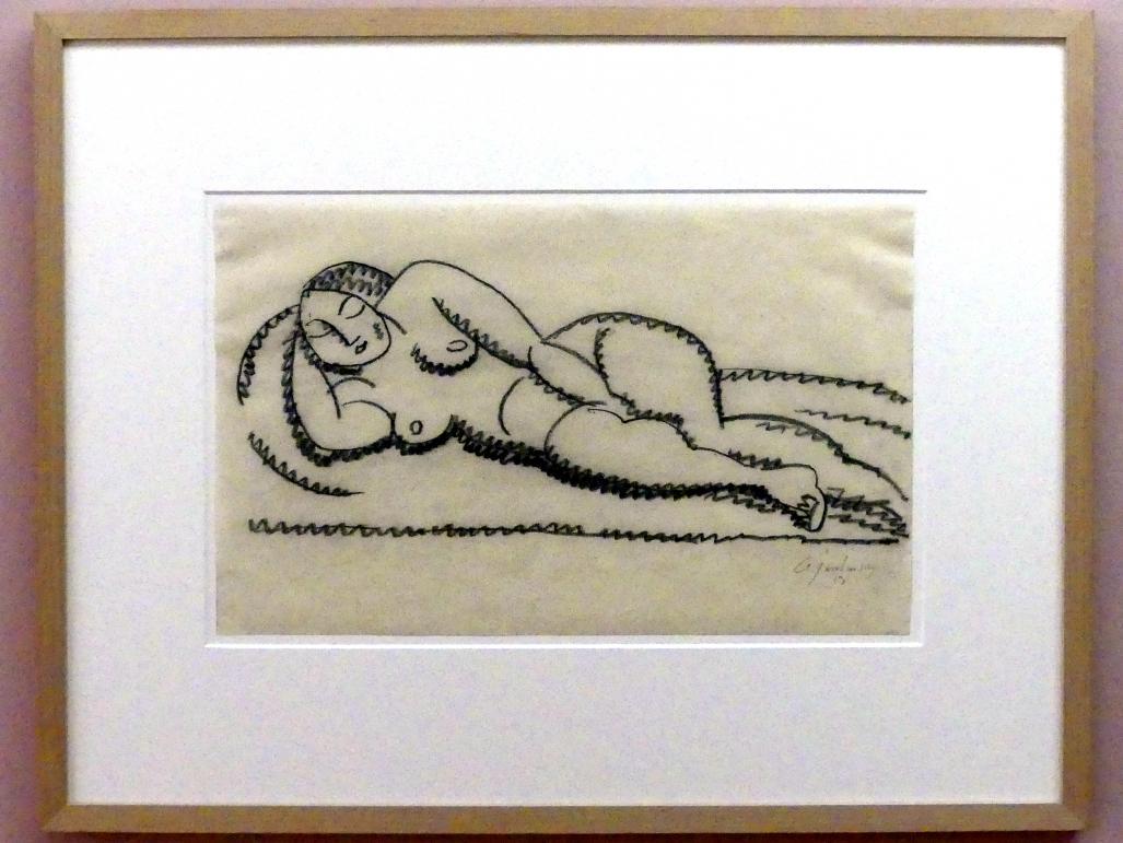 Alexej von Jawlensky: Liegender weiblicher Akt, 1913