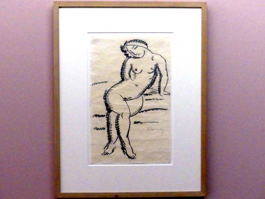 Alexej von Jawlensky: Sitzender weiblicher Akt, 1913