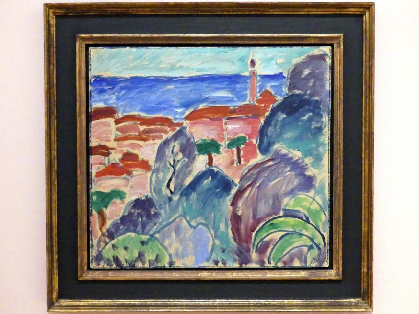 Alexej von Jawlensky: Küstenstadt, 1914