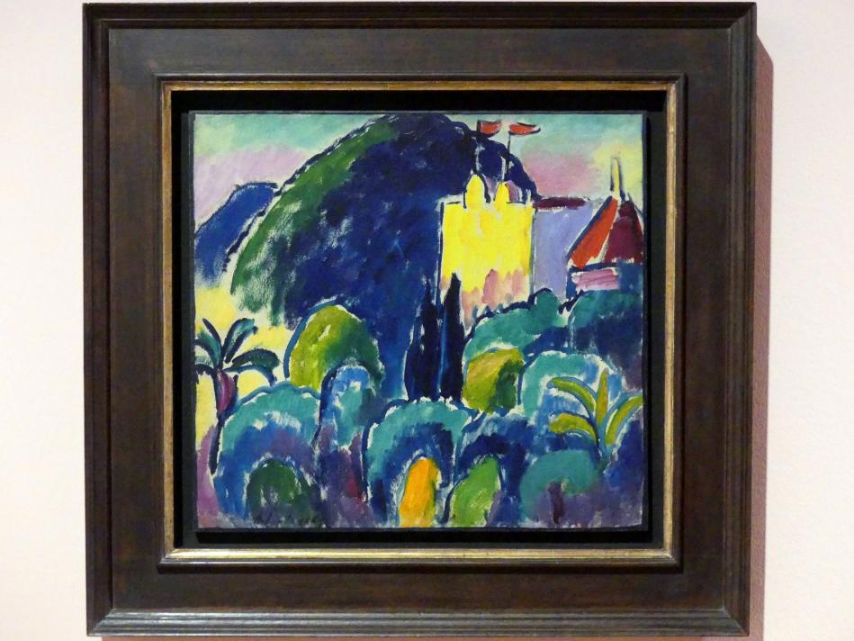 Alexej von Jawlensky: Gelbes Haus - Bordighera, 1914