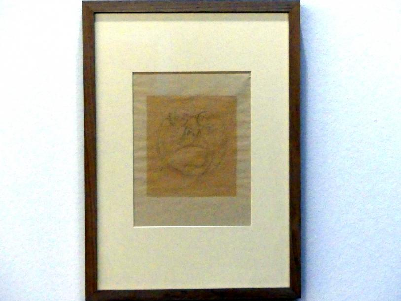 Alexej von Jawlensky: Selbstbildnis im Rasierspiegel, 1938
