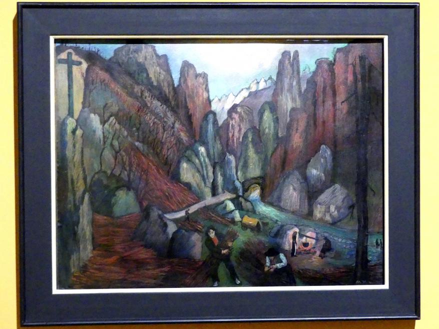 Marianne von Werefkin: Holzfäller, 1932