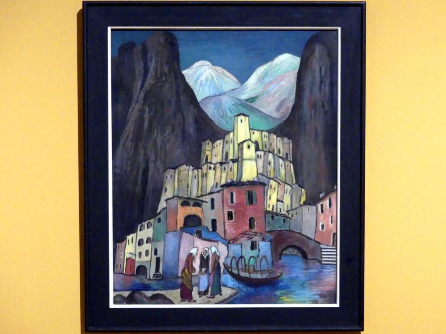 Marianne von Werefkin: Die leidende Stadt, um 1930