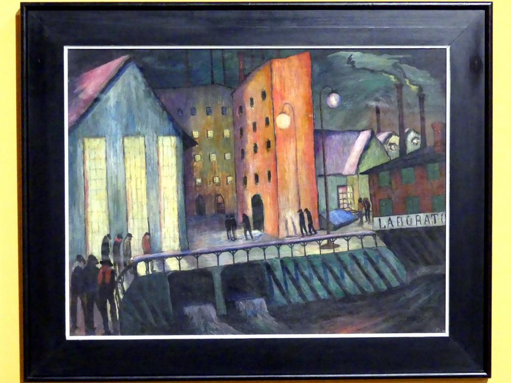 Marianne von Werefkin: Nachtschicht, 1924