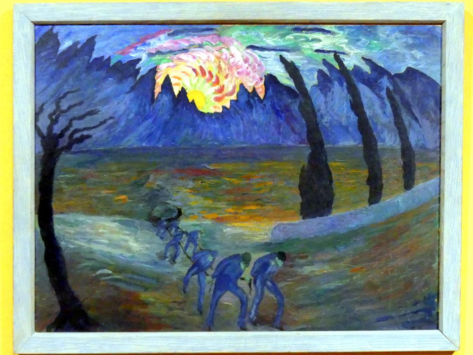 Marianne von Werefkin: Sonnenaufgang, Undatiert