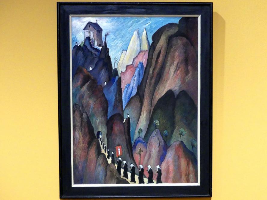 Marianne von Werefkin: Der Kreuzweg II, 1921