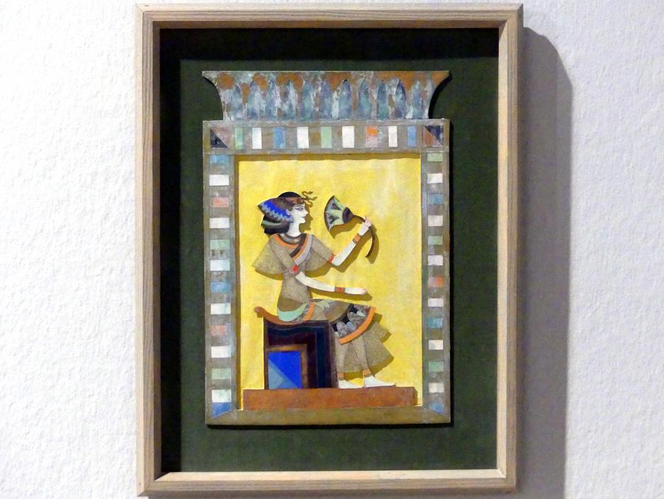 """Alexander Sacharoff: Clotilde von Derp-Sacharoff als """"Isis"""", 1923"""