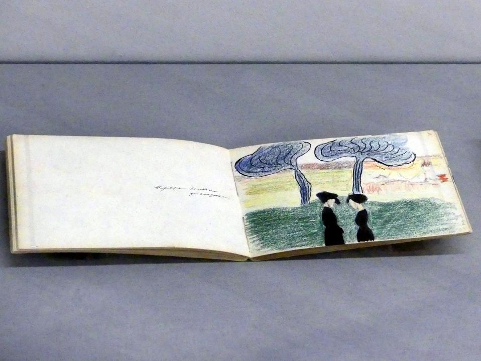 Marianne von Werefkin: Skizzenbuch a4/60-61, Undatiert