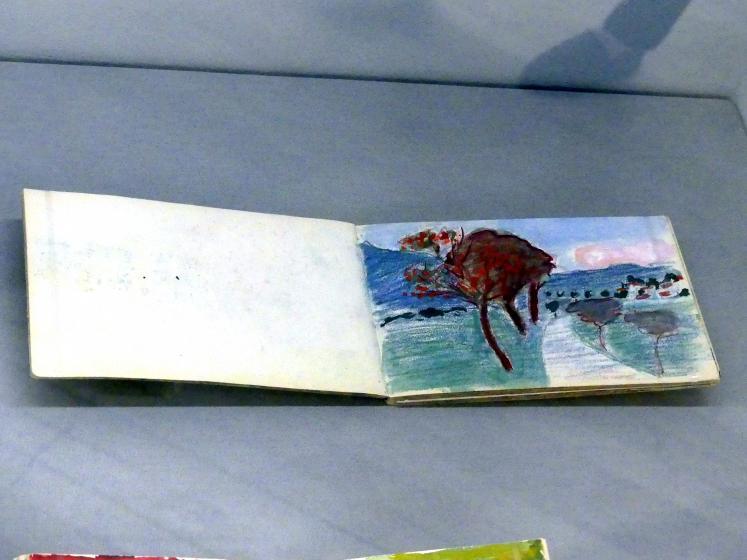 Marianne von Werefkin: Skizzenbuch a11/21, Undatiert