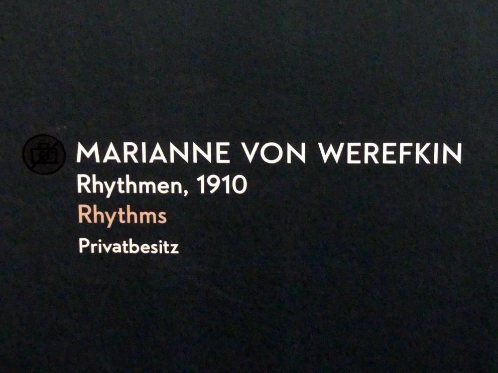 Marianne von Werefkin: Rhythmen, 1910