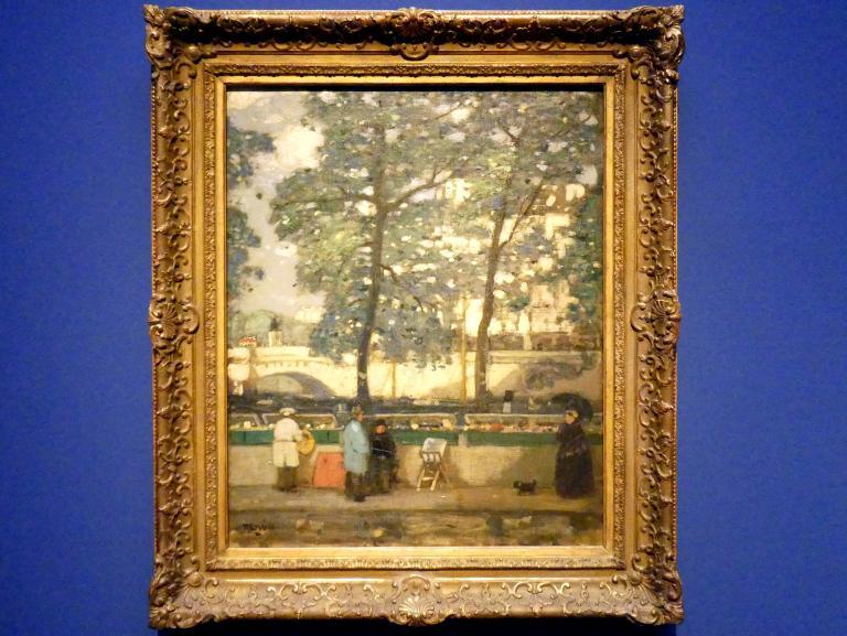 James Wilson Morrice: Quai des Grands-Augustins, Paris, 1901