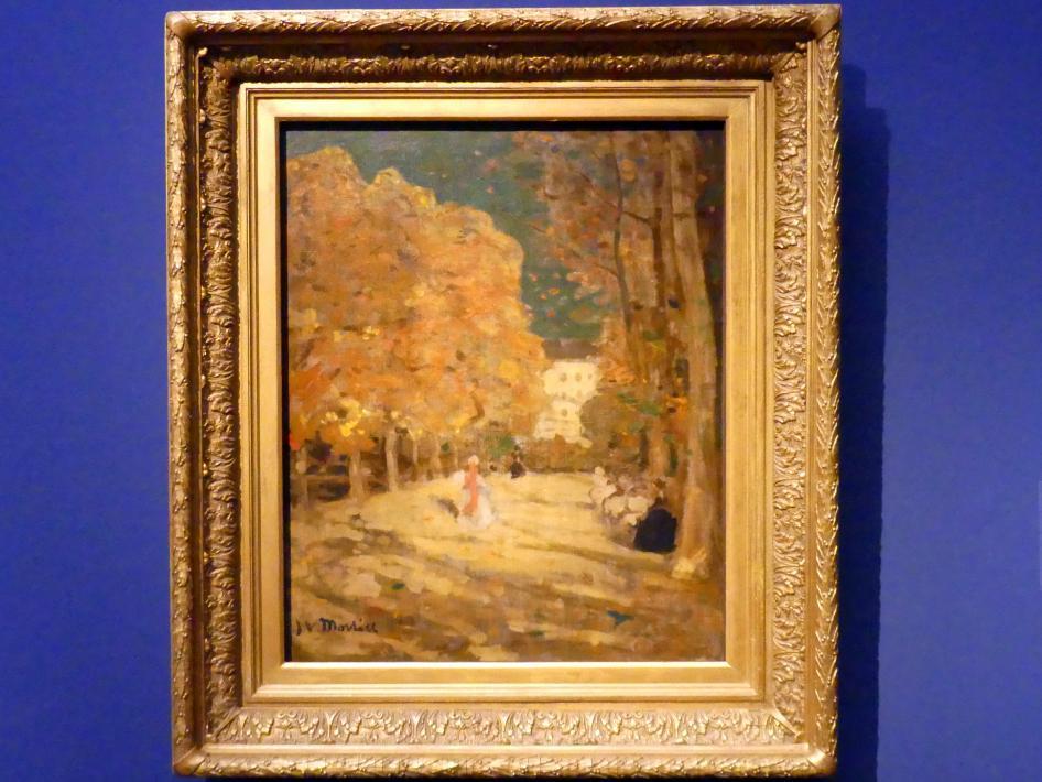 James Wilson Morrice: Jardin du Luxembourg, Paris, um 1905