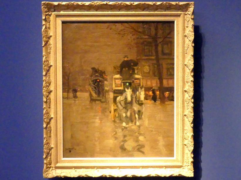 James Wilson Morrice: Der Omnibus, um 1900