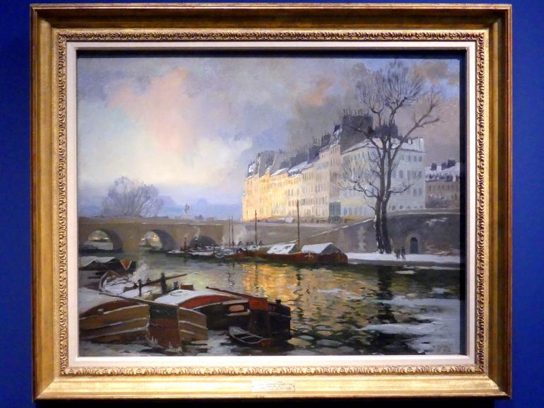 Maurice Galbraith Cullen: Paris, Winter an der Seine, 1902