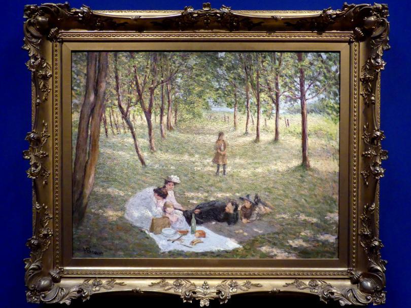 Henri Beau: Das Picknick, 1904 - 1905