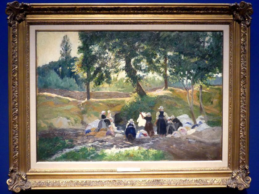 Maurice Galbraith Cullen: Bretonische Wäscherinnen, 1901