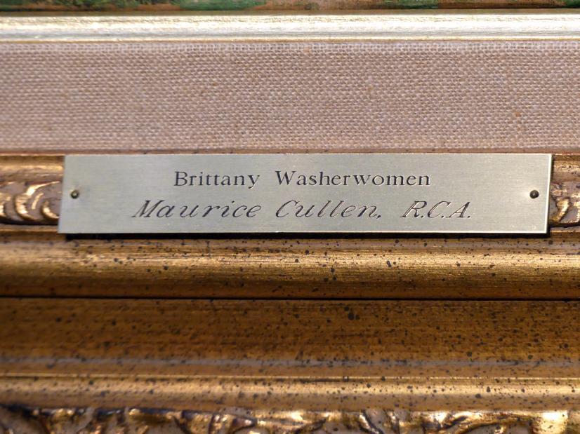 Maurice Galbraith Cullen: Bretonische Wäscherinnen, 1901, Bild 3/4