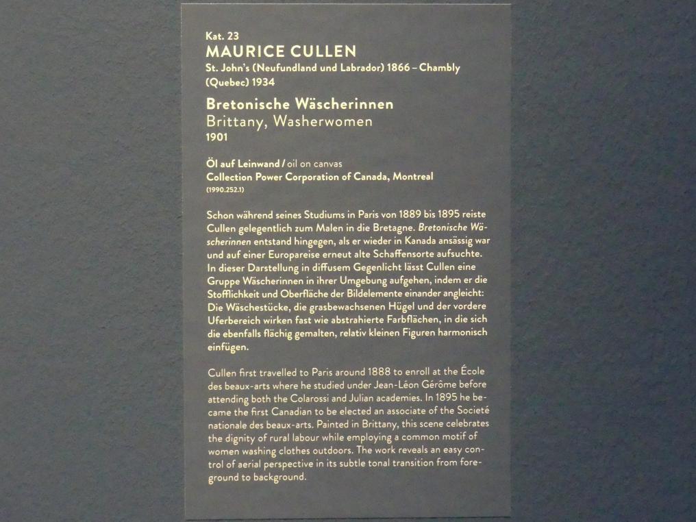 Maurice Galbraith Cullen: Bretonische Wäscherinnen, 1901, Bild 4/4