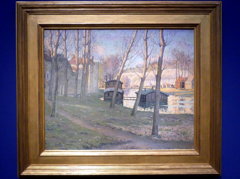 Ernest Lawson: Moret-sur-Loing, um 1893