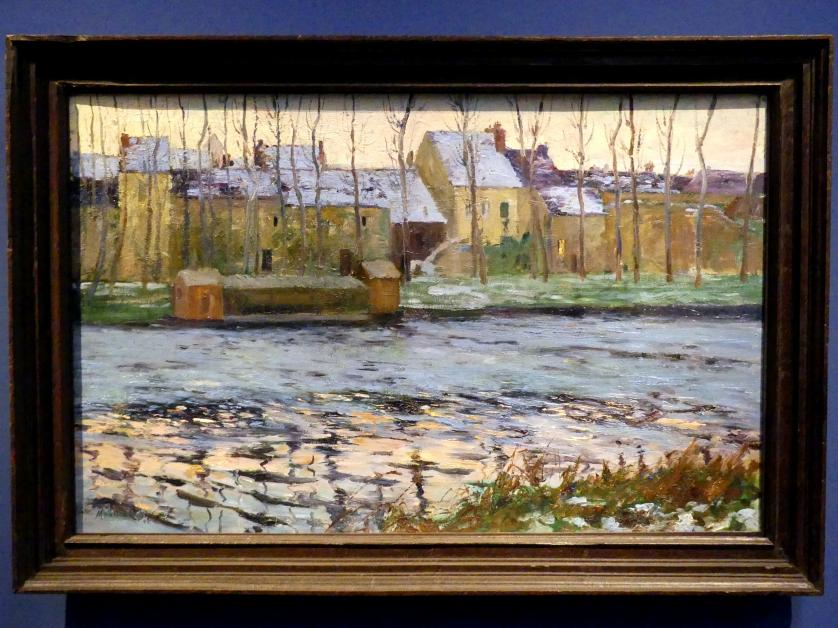 Maurice Galbraith Cullen: Moret, Winter, 1895