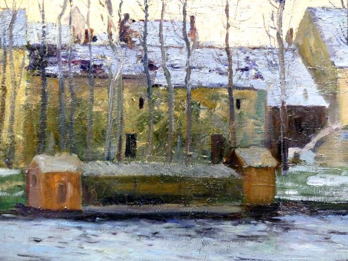 Maurice Galbraith Cullen: Moret, Winter, 1895, Bild 2/3