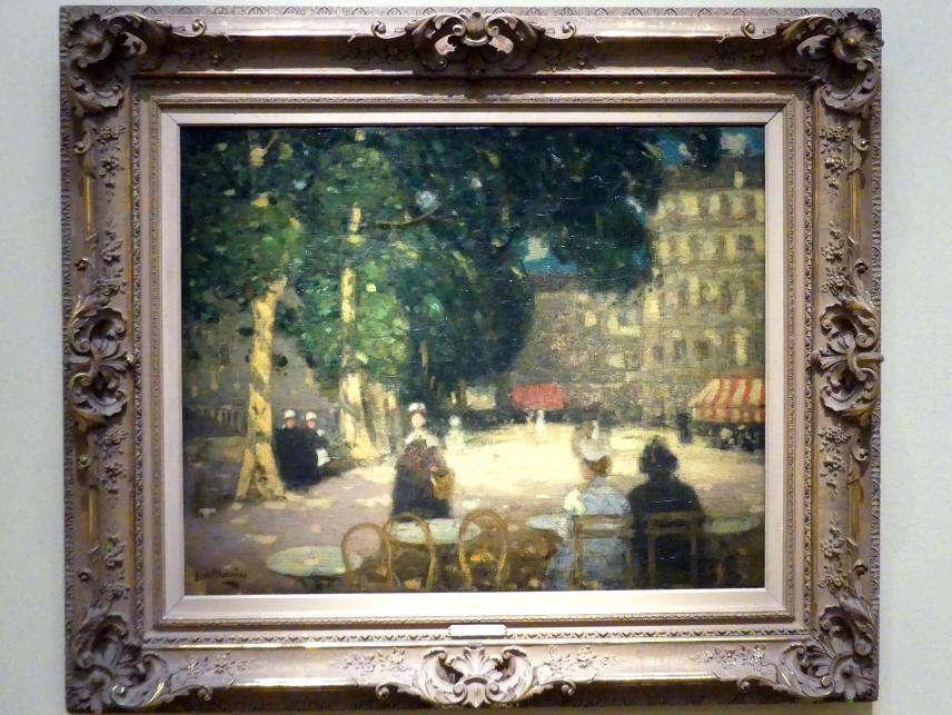 James Wilson Morrice: La Place Chateaubriand, Saint-Malo, um 1899 - 1900